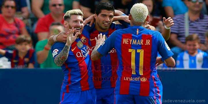 Messi Suarez y Neymar de vuelta a Barcelona
