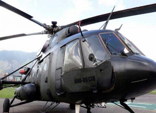 Sigue la busqueda del helicoptero desaparecido