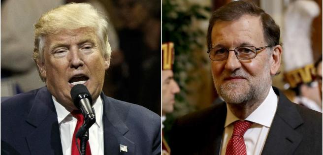Rajoy se reuinirá con Trump