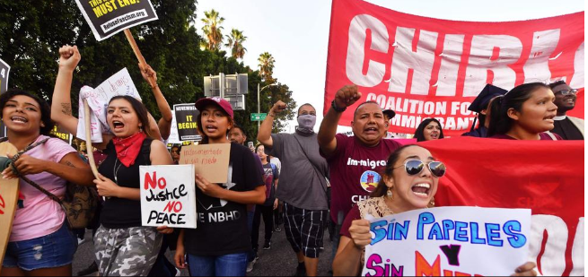 """Trump quiere deportar a los """"Soñadores"""""""