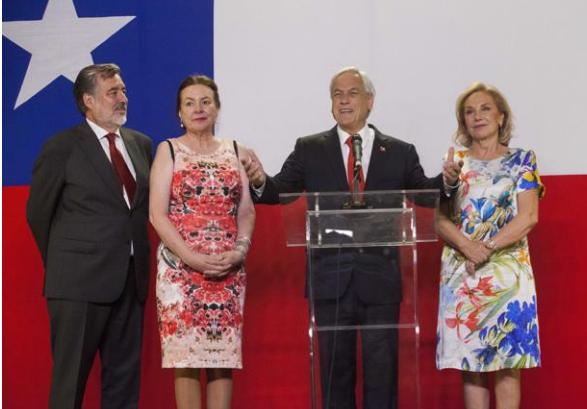 Gana Piñera las elecciones presidenciales en Chile