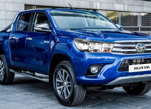 La casa automotriz Toyota Hillux sacó al mercado su versión 2018