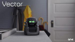 vector robot ojos expresiones